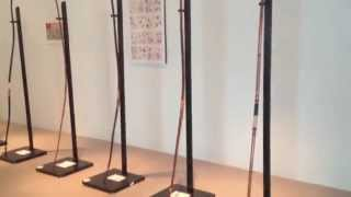 Kyudo arrows (ya) and bows (yumi)