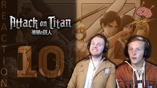 SOS Bros React - Attack on Titan Season 3 Episode 10 - Insufficient Strength