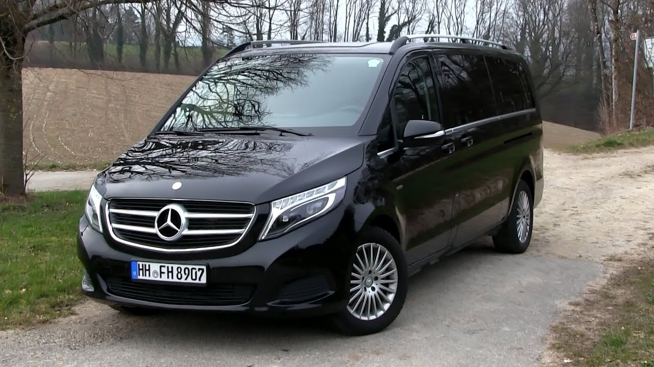 2016 mercedes v 250 cdi bluetec 190 hp test drive by. Black Bedroom Furniture Sets. Home Design Ideas