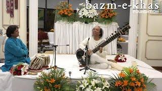 Raag - Rageshree | Ustad Nishat Khan | Bazm e Khas | live baithak