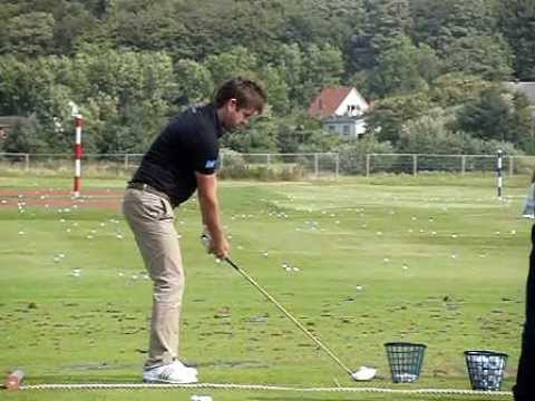 Robert Rock Golf Swing – Chipping Action, Slow Motion ...