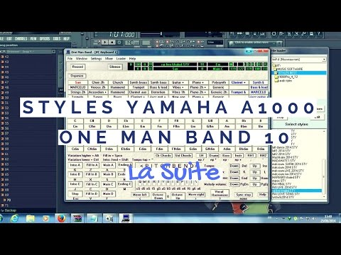 One Man Band - Demo Program Yamaha A1000 [2014]