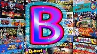 B☆A-Z Best MAME GAMES♥❤Arcades