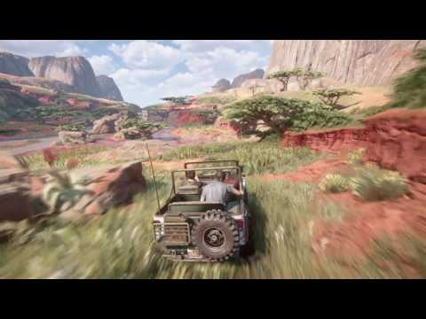 Uncharted 4: A Thief's End campaign pt16 - Off-Roading in Madagascar! Open-World Fun