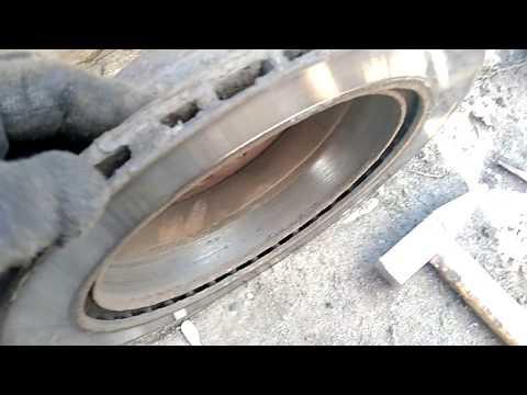 Замена тормозных дисков на H3 new turbo