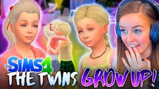 👧THE TWINS GROW UP!👧 (The Sims 4 #29! 🏡)