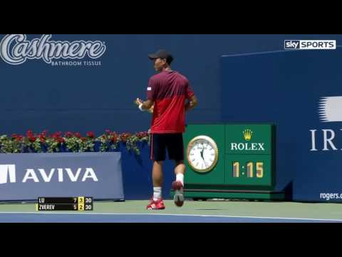 Alexander Zverev vs Yen Hsun Lu 20160726 Highlights HD