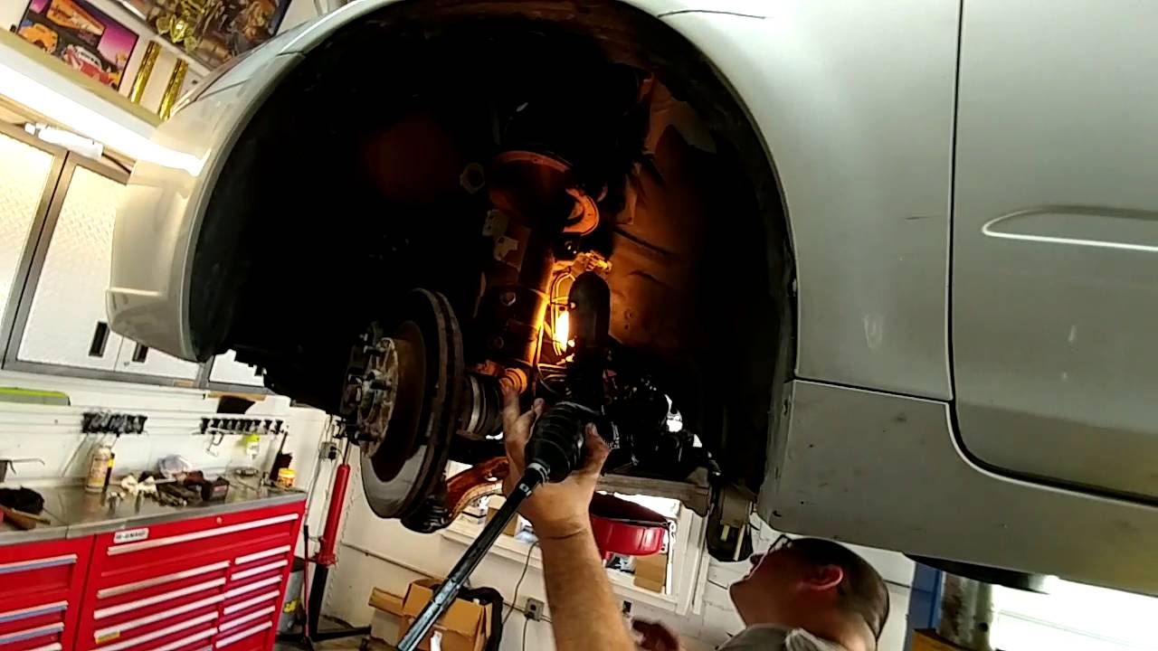 Rack And Pinion >> 06 altima rack and pinion install - YouTube