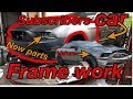 Rebuilding a subscribers wrecked ford mustang part 1