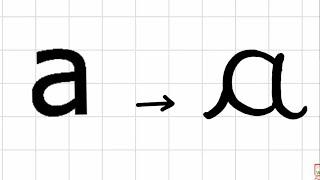 تعليم كتابة الحروف الفرنسية بشكل صحيح (ج1)_HD