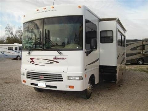 2007 Winnebago Sightseer 33T 34ft Class A Motorhome Custom Tommy Wheelchair Lift $91,000