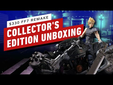 Unboxing Final Fantasy 7 Remake: Collectors Edition