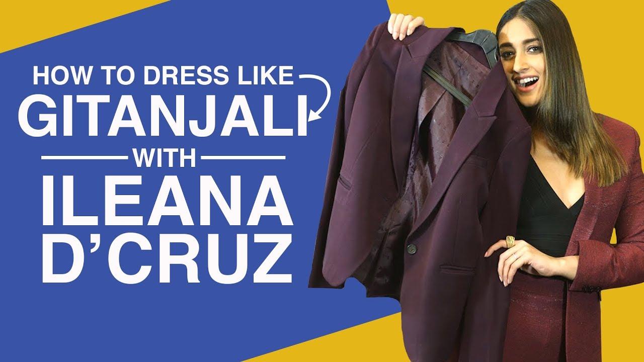 Baadshaho: Ileana D'Cruz decodes her style   How to dress like Gitanjali   Bollywood   Pinkvill