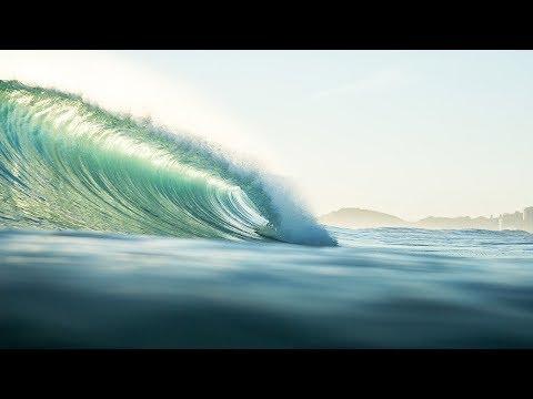 First swell of 2018 - Burleigh Heads 19 Jan