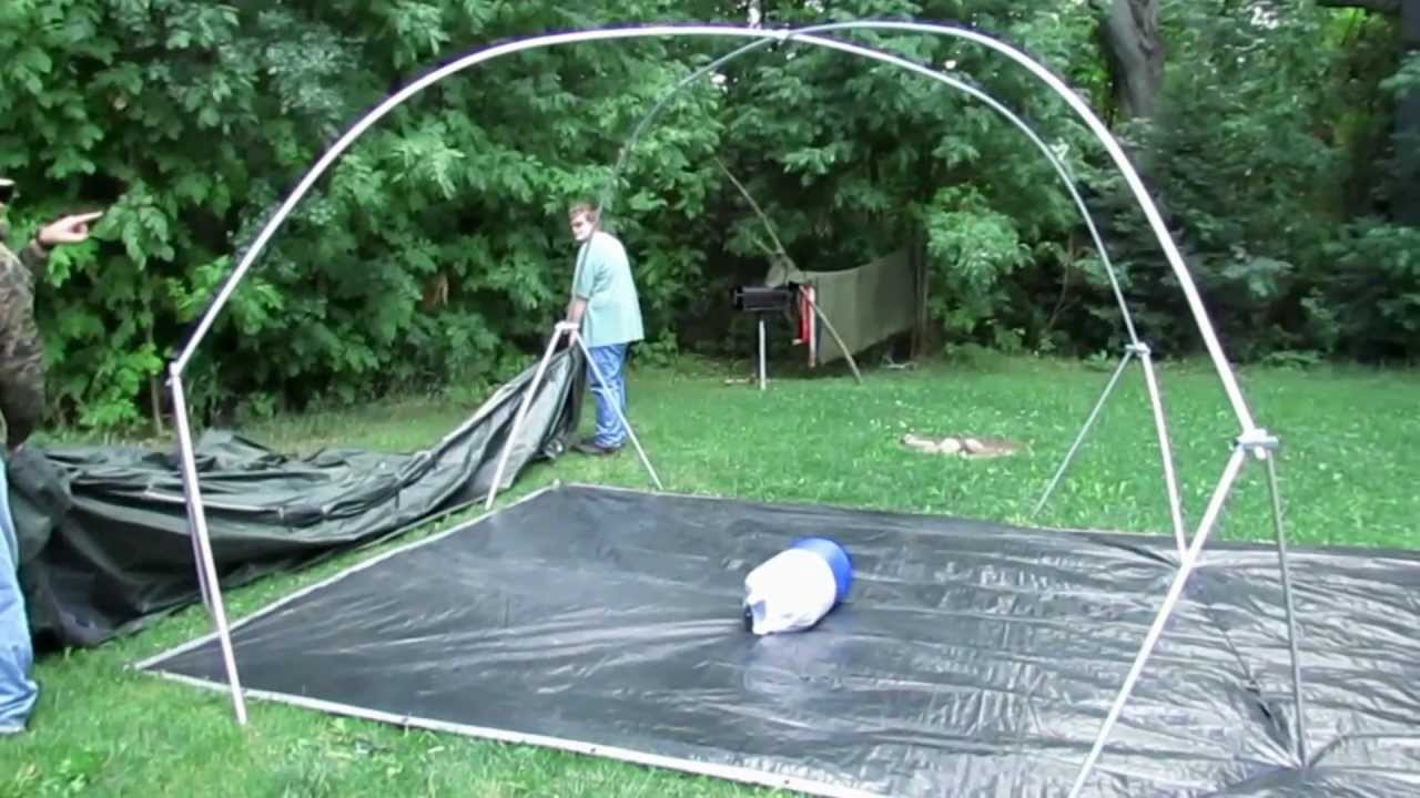 & HD Gear Review- How to Pitch the Cabelau0027s XWT 12x12 Tent - YouTube