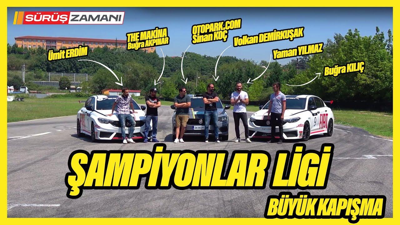 Şampiyonlar Ligi | The Makina Otopark.com Ümit Erdim Büyük Kapışma