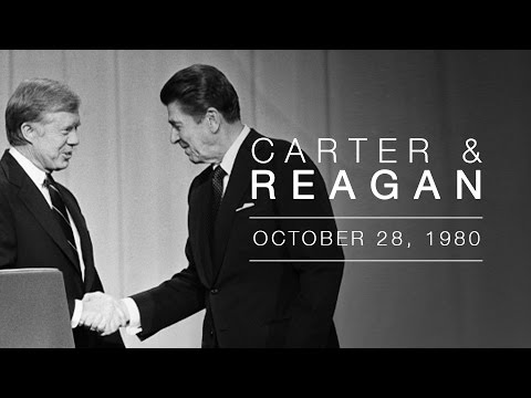 1980 Presidential Candidate Debate: Governor Ronald Reagan a