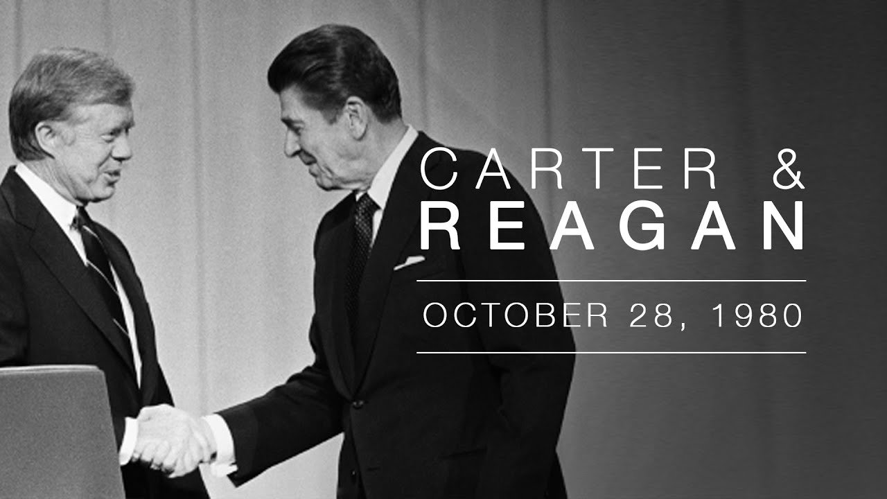 1980 Presidential Candidate Debate: Governor Ronald Reagan and President Jimmy Carter - 10/28/80