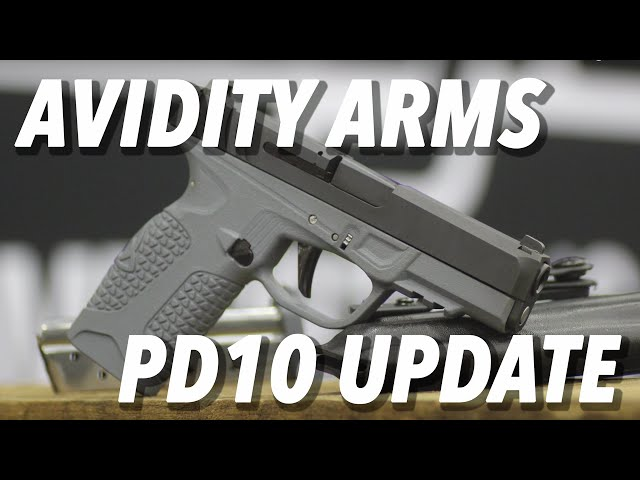 Avidity Arms PD10 UPDATE, Coming Sometime… ;) with Rob Pincus – SHOT Show 2019