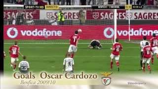 OSCAR CARDOZO- the best of-goals benfica 2010 HD