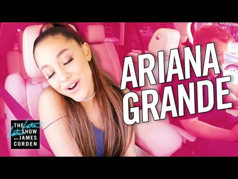 Arie - Ariana Grande On Carpool Karaoke