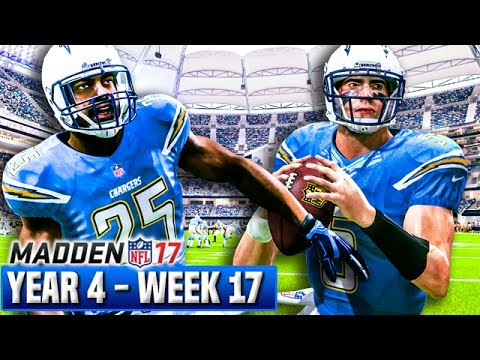 Madden 17 Chargers Franchise Year 4 - Week 17 vs Colts   Ep.88