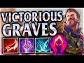 NEW DESTINY! ONE AUTO MULTI KILL OUTPLAY! Victorious Graves Jungle - League of Legends Commentary