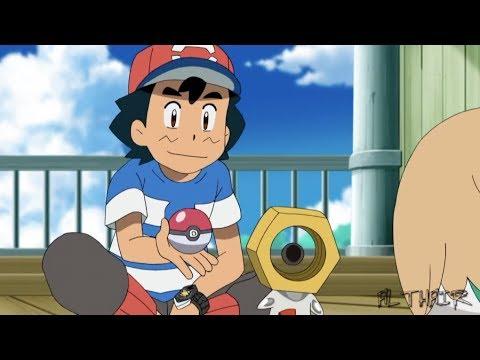 Ash catches Meltan「AMV」- Pokemon Sun & Moon Season 3 Episode 112