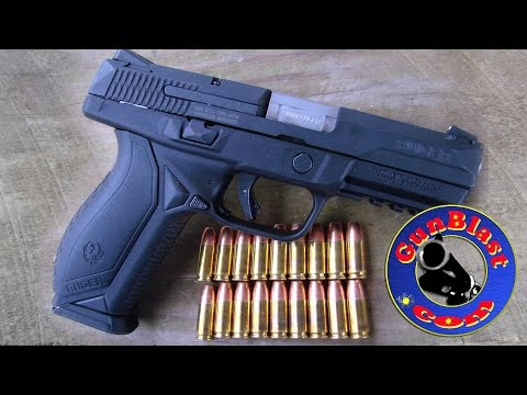 Shooting Ruger's NEW American Pistol 9x19mm Semi-Automatic Pistol - Gunblast.com