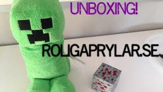 Wo4n unboxing från Roligaprylar.se