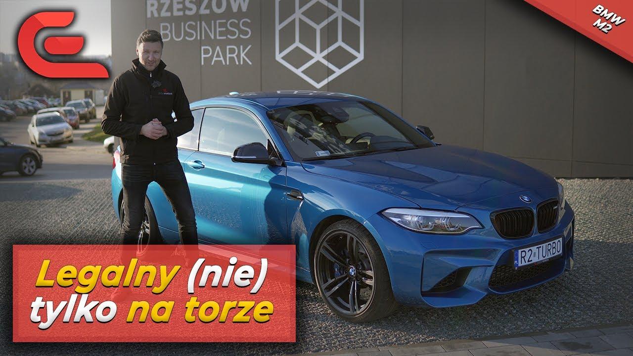 """BMW M2 (F87) – sześciocylindrowe """"baby M"""" z… zakazanym wydechem // exhaust // engine sound // POV"""