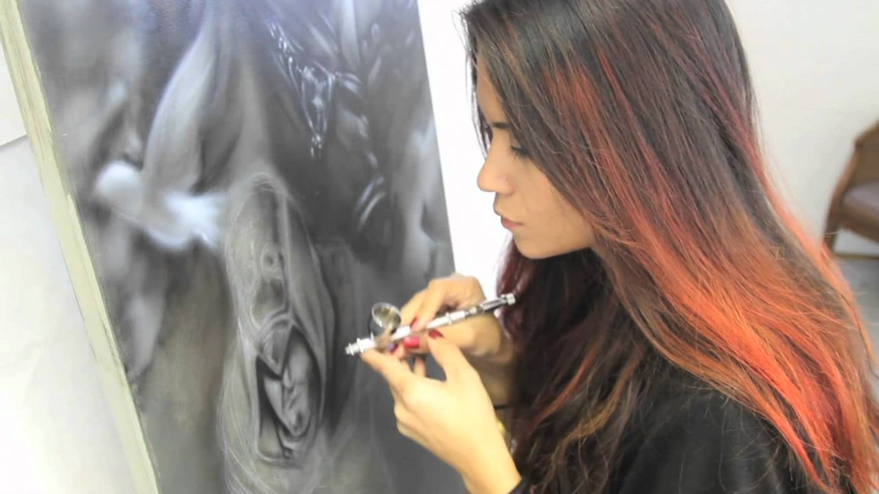 Assassins Creed Airbrush Painting Youtube
