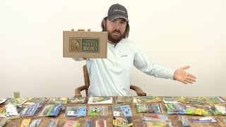 Mystery tackle box: the ultimate unboxing - full year inshore saltwater