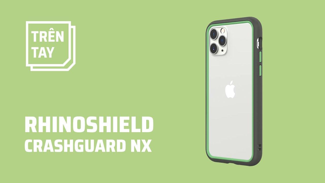 Trên tay ốp viền tùy biến cho iPhone RHINOSHIELD CrashGuard NX