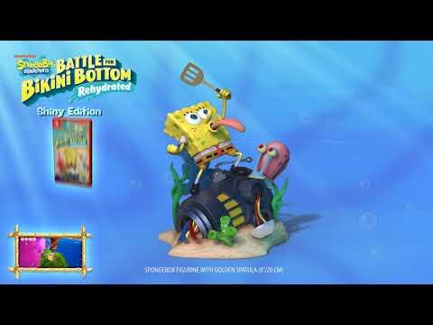 SpongeBob SquarePants: Battle for Bikini Bottom – Rehydrated – Shiny Edition Trailer