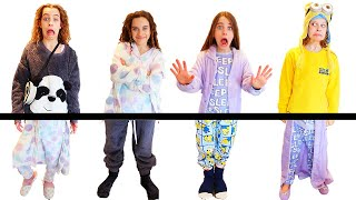OH NO! OUR PAJAMAS ARE ALL MIXED UP Challenge By The Norris Nuts