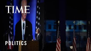 2020 Election: President-Elect Joe Biden Vows to Usher In 'A Time to Heal in America' (Full Speech)