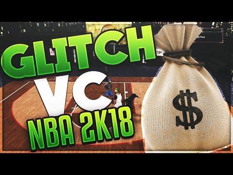 NBA2K18 - GLITCH  VC