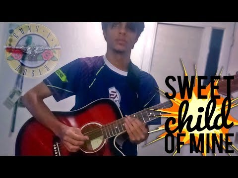 Sweet Child O' Mine in Stop Motion (Guns N' Roses) – Guitar skills 1 editing skills 99