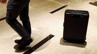 The Cowa Robot Is A Smart Suitcase That Follows You