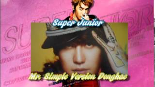 Super Junior Mr. Simple Donghae Version Unboxing Thumbnail