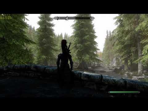 The Elder Scrolls V  Skyrim Special Edition Game play 4k & Mods (2020 02 16)  