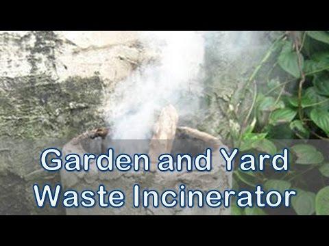 Make a Garden and Yard Waste Incinerator