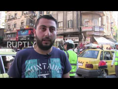 Syria: Aleppo residents celebrate start of Ramadan for first time since gov. retook city