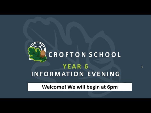 Joining Us in Year 7: Year 6 Transition Information Evening 2021