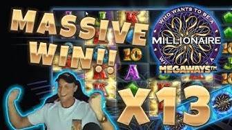 Who wants to be a Millionaire BIG WIN - Huge win on Casino Games - (Online Casino)