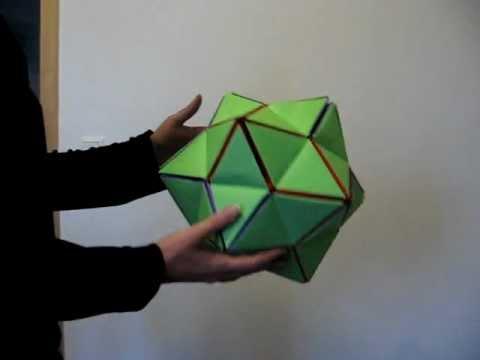 Origami Revealed Flower Youtube
