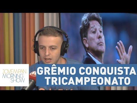 Grêmio Conquista Tricampeonato Da Copa Libertadores