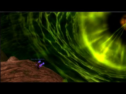 WoW Legion: Jumping Inside of the Well of Eternity