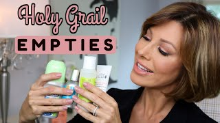 My Holy Grail Product Empties! | Dominique Sachse